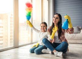 Ab wann sollten Kinder im Haushalt mithelfen?