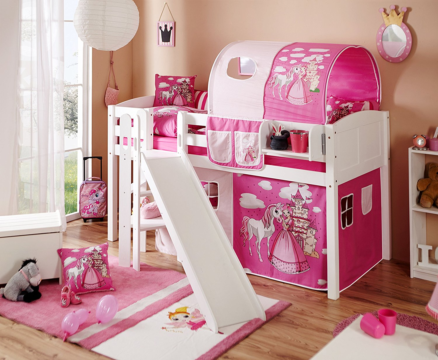 kinderhochbett mit rutsche ratgeber familien. Black Bedroom Furniture Sets. Home Design Ideas
